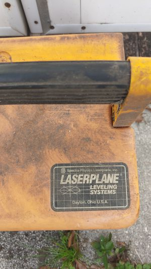 Laserplane Leveling System for Sale in Orlando, FL