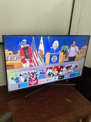 Tv Samsung smart 4k 55 inch delgadita nada pesada ku6900 chingosisima vista chingona vien cuidada en buen estado 380$ for Sale in Los Angeles, CA