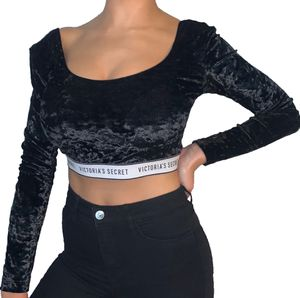 Victoria's Secret velour crop top size s for Sale in Silver Spring, MD