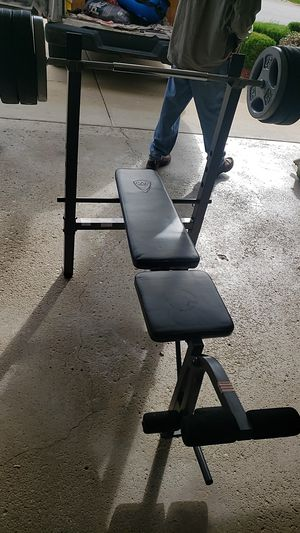 CAP WEIGHT BENCH 150LBS for Sale in Buffalo Grove, IL