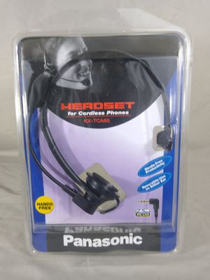Panasonic KX-TCA60 Black Headband Headsets for Sale in Cleveland, OH