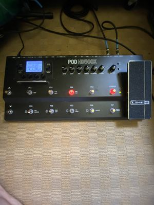 Line 6 pod hd500x guitar pedal for Sale in Raleigh, NC