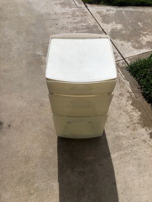Plastic drawers for Sale in Fresno, CA
