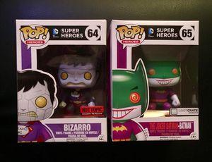 Funko Pop DC Comics Bizarro and Joker Batman Exclusive Super Heroes Set for Sale in Irwin, PA