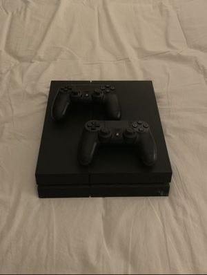 PS4 + 2 Controllers for Sale in Los Angeles, CA