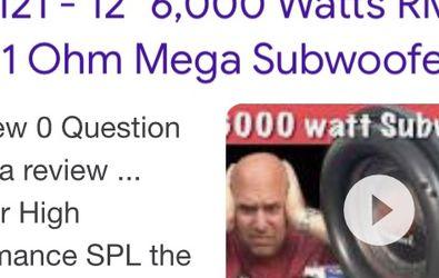 "12 "" Massive Boa Subs (Review) for Sale in Salt Lake City,  UT"
