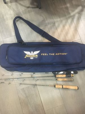 Ice fishing rod case for Sale in Downers Grove, IL