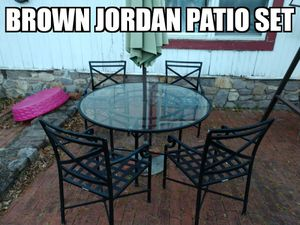 Brown Jordan patio furniture for Sale in New Hope, PA