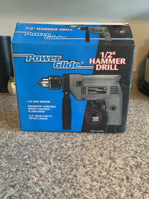 Power Glide Hammer Drill for Sale in Cohoes, NY