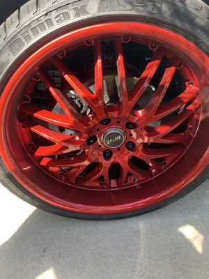 20 Inch Rims and Tires for Sale for Sale in Riverside, CA
