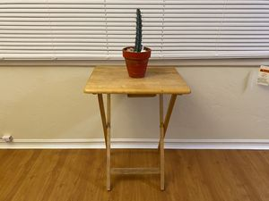 Stylish folding wooden table for Sale in Berkeley, CA