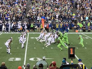 Seahawks -Ravens -October 20th at Centuryink -1:30 h Section 133- Row J seats 18-19. One of them is an end seat. :0 yard line Seahawks side 11 rows f for Sale in Tacoma, WA