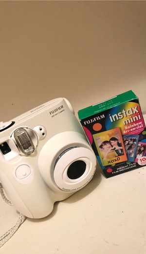 Instax Mini Camera + 10 Film Sheets for Sale in East Haven, CT