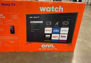 """Brand new ROKU ONN TV 50"""" inch! Open box w/warranty NVC12 for Sale in Dallas, TX"""