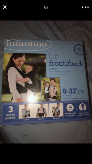 Baby carrier infantino for Sale in Dallas, TX