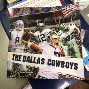 Dallas Cowboys book for Sale in Matawan, NJ