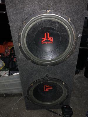 "12"" Rockford Fosgate subwoofers good box for Sale in Las Vegas, NV"
