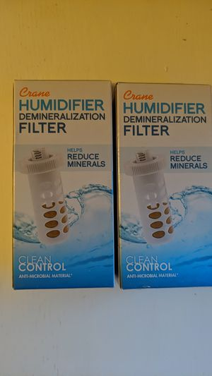 2 Crane Humidifier Demineralization Filters for Sale in Nashua, NH