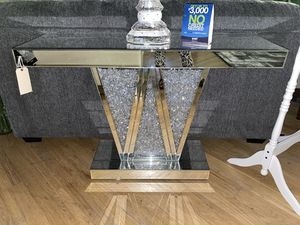 GLAM CONSOLE TABLE for Sale in Philadelphia, PA