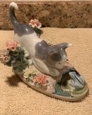 "Lladro Figurine 1442 ""kitty Confrontation"" Cat for Sale in Fort Pierce, FL"