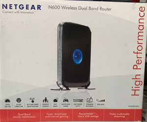 NETGEAR N600 Dual Band Wi-Fi Router (WNDR3400) for Sale in Columbia, SC