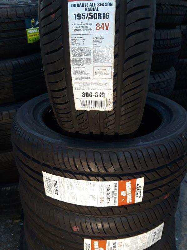 195/50-16 #4 tires