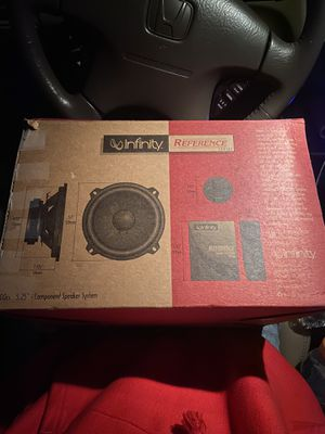 """Infinity Reference Series 500cs 5.25"""" Component Speaker System. for Sale in Edmonds, WA"""