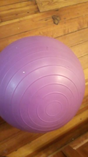 Free small yoga ball for Sale in ROXBURY CROSSING, MA