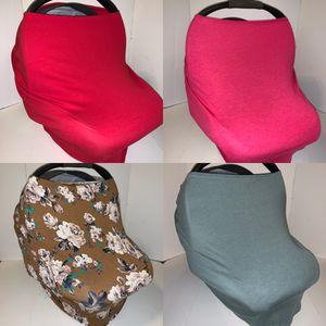 Car seat Breastfeeding Cover 5-in-1 for Sale in Visalia, CA