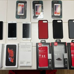 iPhone 6s + Plus with 128 go - 3 Available with cases for Sale in Canton, MI