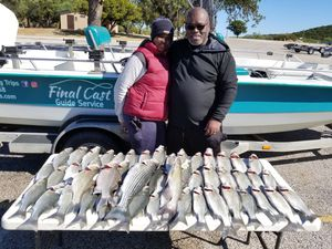 Possum Kingdom Lake sand bass trips for Sale in Graham, TX
