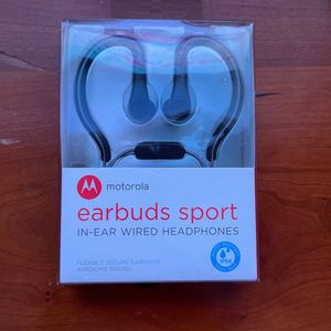 Earbuds Sport- In Ear Wired Headphone for Sale in New Milford, NJ