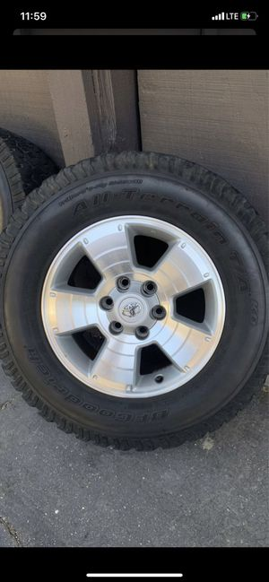 Toyota Tacoma/4Runner rims for Sale in Whittier, CA