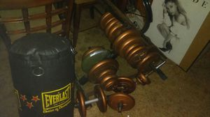 Weights and bench for Sale in Brunswick, OH
