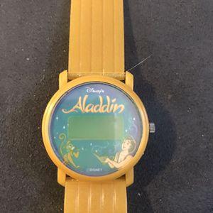 DISNEY ALADDIN PROMO WATCH for Sale in Rialto, CA