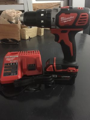 Milwaukee M18 hammer drill and battery for Sale in Salem, OR