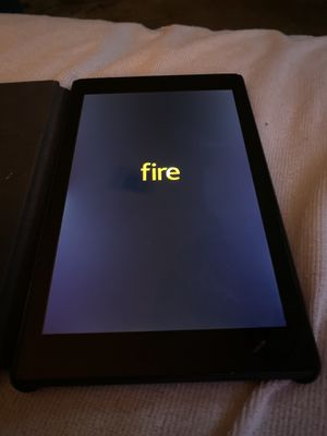 Amazon Fire HD8 tablet (6 generation) for Sale in Houston, TX