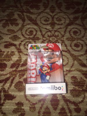 Super Mario - Mario Amiibo - New In Box for Sale in Wheaton, MD