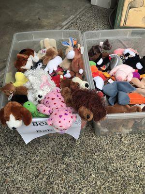 Beanie Babies Lot - 135 total for Sale in Bellevue, WA