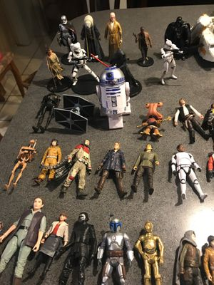 Star Wars action figures most 5.00 a piece for Sale in Austin, TX