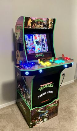 Custom 4 Player TMNT Arcade Video Game MAME Arcade1up 3000 Games for Sale in Vancouver,  WA