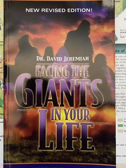 Facing The Giants In Your Life By Dr. David Jeremiah Book for Sale in San Diego,  CA