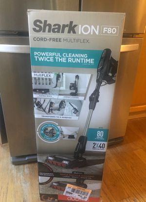 NEW Shark ion F80 Multiflex cordless vacuum for Sale in East Hartford, CT