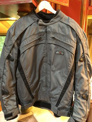 FieldSheer Waterproof Motorcycle Jacket : Gray/Men's Size XXL for Sale in Canton, GA