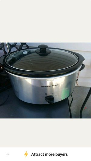 Brand new crock pot, cast iron.dutch oven toaster for Sale in La Vergne, TN