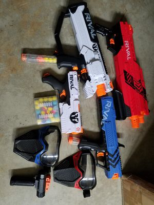 Rival Nerf guns for Sale in Brentwood, CA