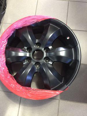 "20"" Satin Black set of 4 Rims 6 spoke 6*139.7 Bolt Pattern Wheels for Sale in Shelby charter Township, MI"