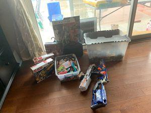 Toys / LEGOs / costume /nerf guns for Sale in Pomona, CA