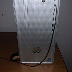HP Desktop And 32 Inch Curved Samsung Monitor Bundle for Sale in Salem,  OR
