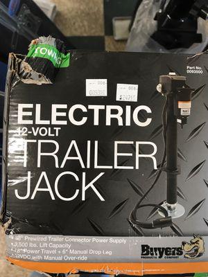 Electric trailer jack for Sale in Phoenix, AZ